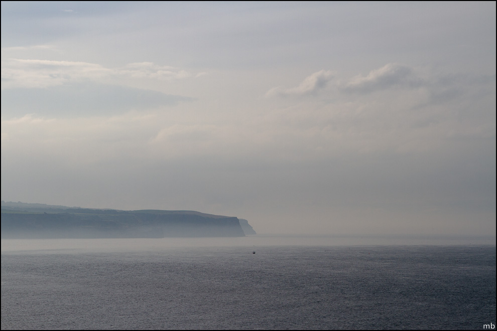 A misty Sandsend