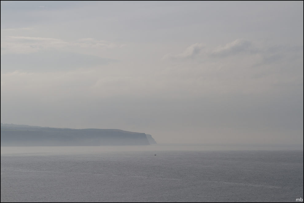 A misty Sandsend - Original