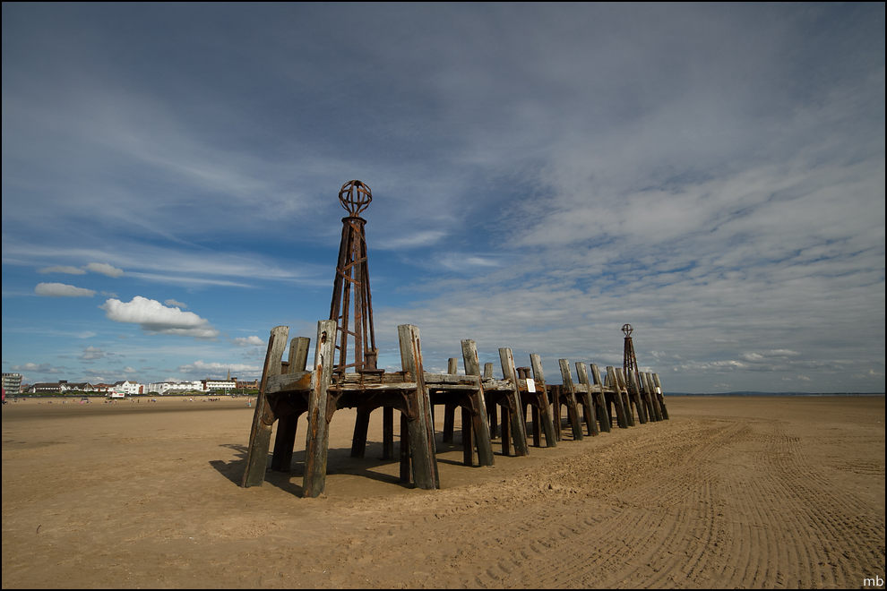 The old jetty, St Annes Pier
